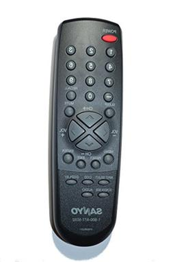 Original Sanyo 076E0RU011 LCD TV Remote Control for Models: