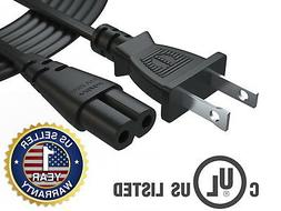 12Ft Extra Long AC Wall Power Cord for Led Lcd Tv Vizio Sams