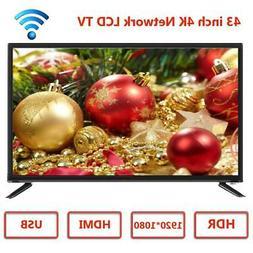 43inch 4K WiFi Network HD Smart LCD TV HDR Flat Screen Telev