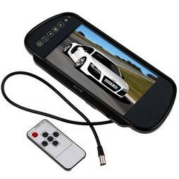 Buyee 7 Inch 16:9 TFT LCD Widescreen Car Rearview Mirror Mon