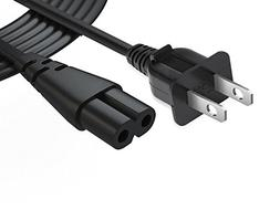 2 Prong Printer Power Cord 6.6 FT 18 AWG Power Cable for Can