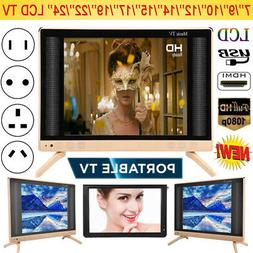 19/22/24inch LED Smart Digital LCD TV 16:9 HDMI USB VGA AV 1