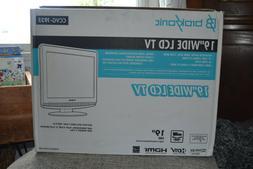 """BrokSonic 19"""" HD  Widesreen LCD TV"""