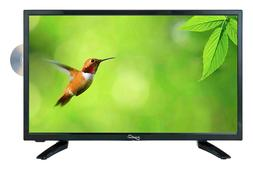 """19"""" LCD LED WIDESCREEN HDTV TV TELEVISION + DVD PLAYER AC DC"""