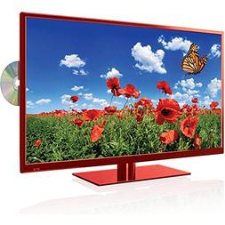 """1920x1080p Full HD 32"""" RED DLED LCD FHDTV with Built-in CD/D"""