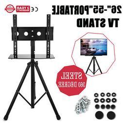 "26""-55"" Plasma LCD TV Stand with Tripod Legs TVs monitors St"