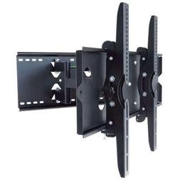 2xhome - Articulating Full Motion Swivel Tv Mount Dual Arm 3