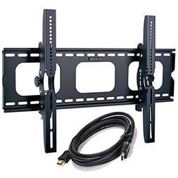 2xhome Wall Mount Bracket LED LCD Screen Monitor Flat Tilt U