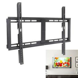 TV Wall Mount Bracket Slim Fixed Panel Stand Holder Frame Fo