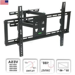 "32""-65"" TV Wall Mount Stable Dual Arm Full Motion Tilt Swi"