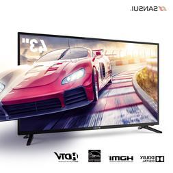 "Sansui  43"" Inch HD 1080P  LED LCD HDTV 60hz TV w/ USB & HDM"