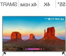 "LG 55"" Class  4K Ultra HD LED LCD TV 55UK6500AUA   No Tax Mo"