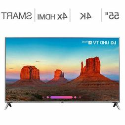"LG 55"" Class  4K Ultra HD LED LCD TV, 55UK6500AUA"