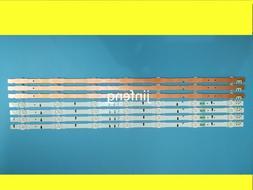 650mm 7 LED Backlight Lamp strip For <font><b>Samsung</b></f