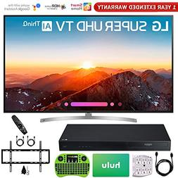 "LG 75SK8070PUA 75"" Class 4K HDR Smart LED AI Super UHD TV w/"