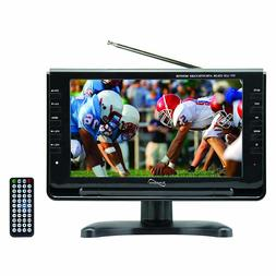 "Supersonic 9"" Portable Widescreen LCD TV with Built in Digit"
