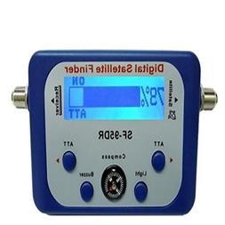 AGPtek Good For Campers Digital Satellite Signal Meter Finde