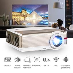 Bluetooth LCD HD Video Projector 4200 Lumen 1280x800 Wxga Na