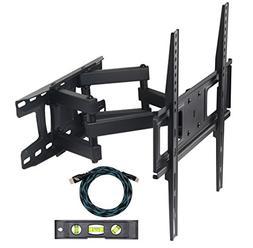 Eco-best Full-Motion Articulating Dual Arm Tilt TV Wall Moun