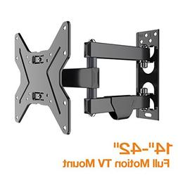 FLEXIMOUNTS TV Wall Mount Bracket for Most 17-42 inch TV Ful