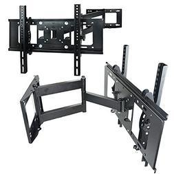 FULL MOTION TILT & SWIVEL LED LCD TV WALL MOUNT BRACKET 32 4