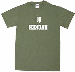 Got Hacker Big Boy's Kids Tee Shirt Youth XL-Olive
