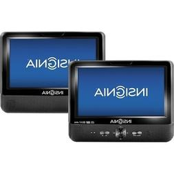 """Insignia Portable DVD Player with 9"""" Dual TFT-LCD 