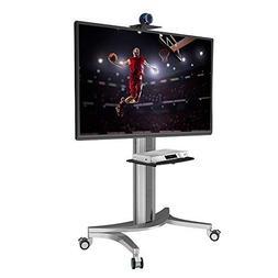 Loctek P2 Mobile TV Floor Cart for LCD LED Plasma Flat Panel