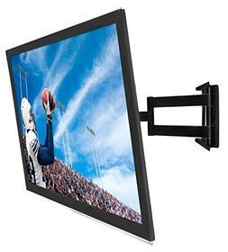 Mount-It! Full Motion Corner TV Wall Mount, Low-Profile Slim