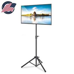 Portable Tripod TV Stand Television LCD Flat Panel Monitor M