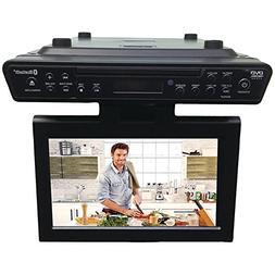 "Sylvania SKCR2706BT 10.2"" Under Cabinet Kitchen TV with Buil"