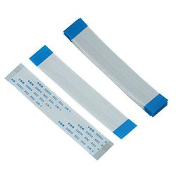 Uxcell 1.0 mm Spacing 15 Pin Flexible Flat Ribbon Cable Fop