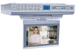 Venturer KLV39082 8-Inch Undercabinet Kitchen LCD TV/DVD Com