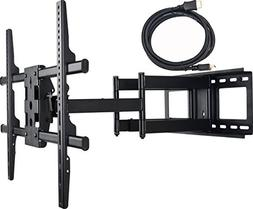 Videosecu Articulating Swing Arm LED LCD Plasma TV Wall Moun