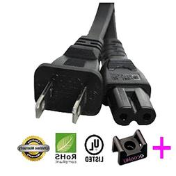 AC Power Cord Cable Plug for DYNEX DX-22LD150A11 LCD TV DVD