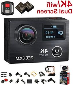 Action Camera, 2017 New 4K 30Fps 14MP Ultra HD Sport Camcord