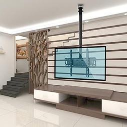 Vemount Adjustable Tilting TV Ceiling Mount Bracket Fits Mos