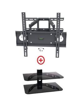 Mount World 1272-30 Articulating Full Motion Dual Arm Wall M