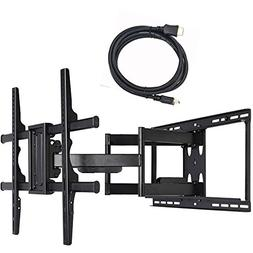 VideoSecu Articulating Full Motion TV Wall Mount Bracket for