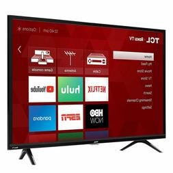 TCL 49S325 49 Inch 1080p Smart Roku LED Full HD TV  3x HDMI