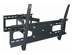 Black Full-Motion Tilt/Swivel Wall Mount Bracket for Sharp A