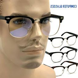 blue light blocking glasses vintage computer gamer