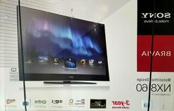 "Sony Bravia NX8/60 Monolithic Design 60"" TV - New in Box - L"