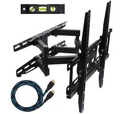 ECO-BEST 003M Cantilever Tilt Swivel Corner TV Wall Mount Br
