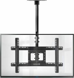 ONKRON Ceiling TV Mount Bracket Height Adjustable for 32 to