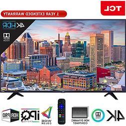 "TCL 43"" Class 5-Series Super-Slim 4K HDR Roku Smart TV 2018"