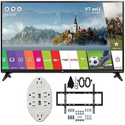"LG 49"" Class Full HD 1080p Smart LED TV 2017 Model  with Dec"