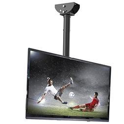 Loctek CM1 Adjustable Tilting Wall Ceiling TV Mount Fits Mos