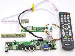 Controller Board Driver kit for LCD Panel LTM185AT01 TV+HDMI