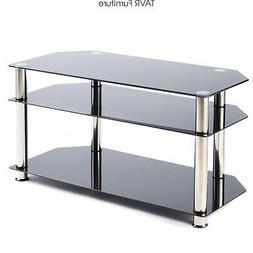 Corner TV Stand for 26-46 Inch Plasma LCD LED OLED Flat/Curv